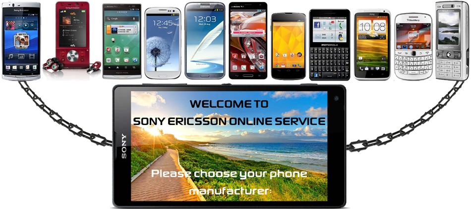 Sony Ericsson Online Service